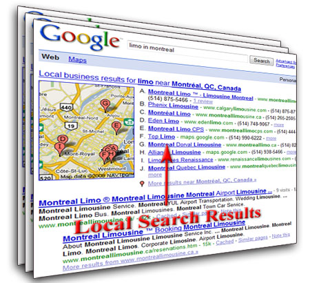 Thuật ngữ Localized search