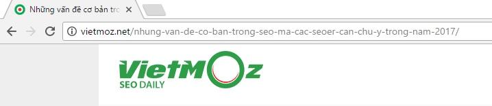 Hãy tối ưu URL thân thiện cho SEO
