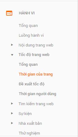 Tốc độ trang web