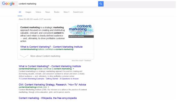 Tìm kiếm website cần phân tích bằng Google Search