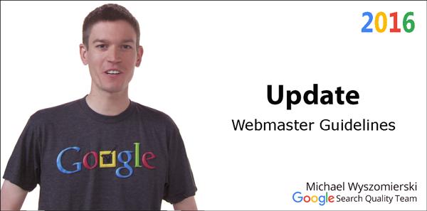 webmaster-guidline-update