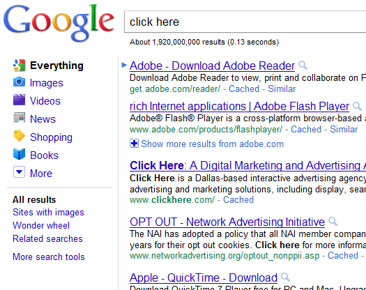 google-bombing-click-here-adobe-2011