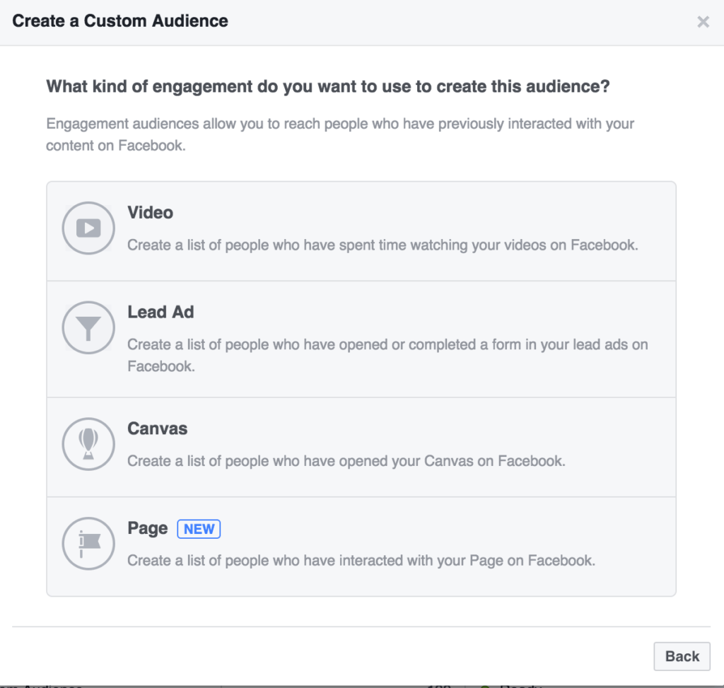 Create a Custom Audience