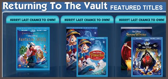 Ví dụ về mẫu quảng cáo của Disney