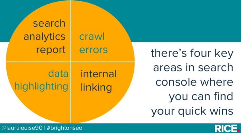 4 phần chính bạn cần quan tâm đến trong Google Search Console