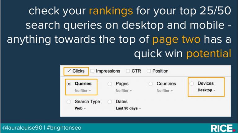 Search Analytics Report cho cái nhìn tổng quan về dữ liệu trên website