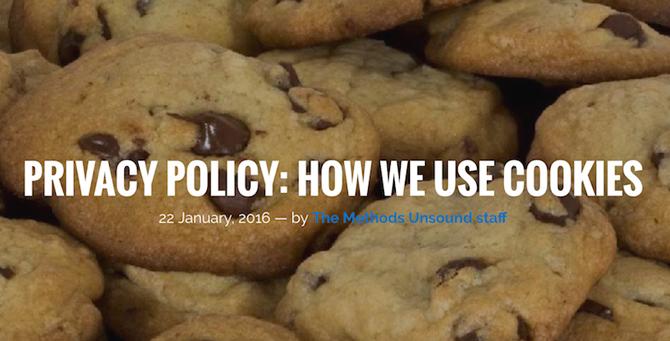 Chính sách về việc sử dụng cookie