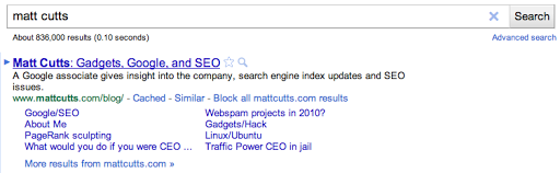 Google đã từng cung cấp các công cụ giúp chúng ta chặn các tên miền không muốn hiển thị trên SERP
