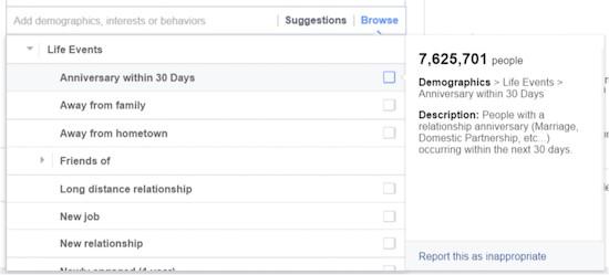 Nhắm mục tiêu quảng cáo trên Facebook