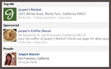 Quảng cáo kết quả tìm kiếm trên Facebook