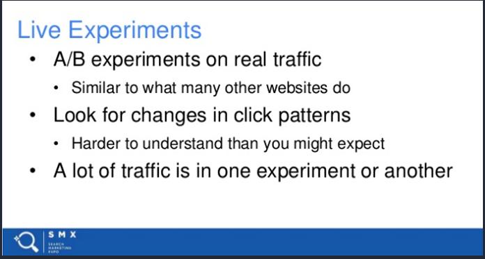 Chính Google đã đề cập đến việc trải nghiệm người dùng có ảnh hưởng đến thứ hạng website