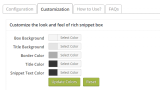 Cài đặt tùy chỉnh plugin all in one schema.org rich snippet