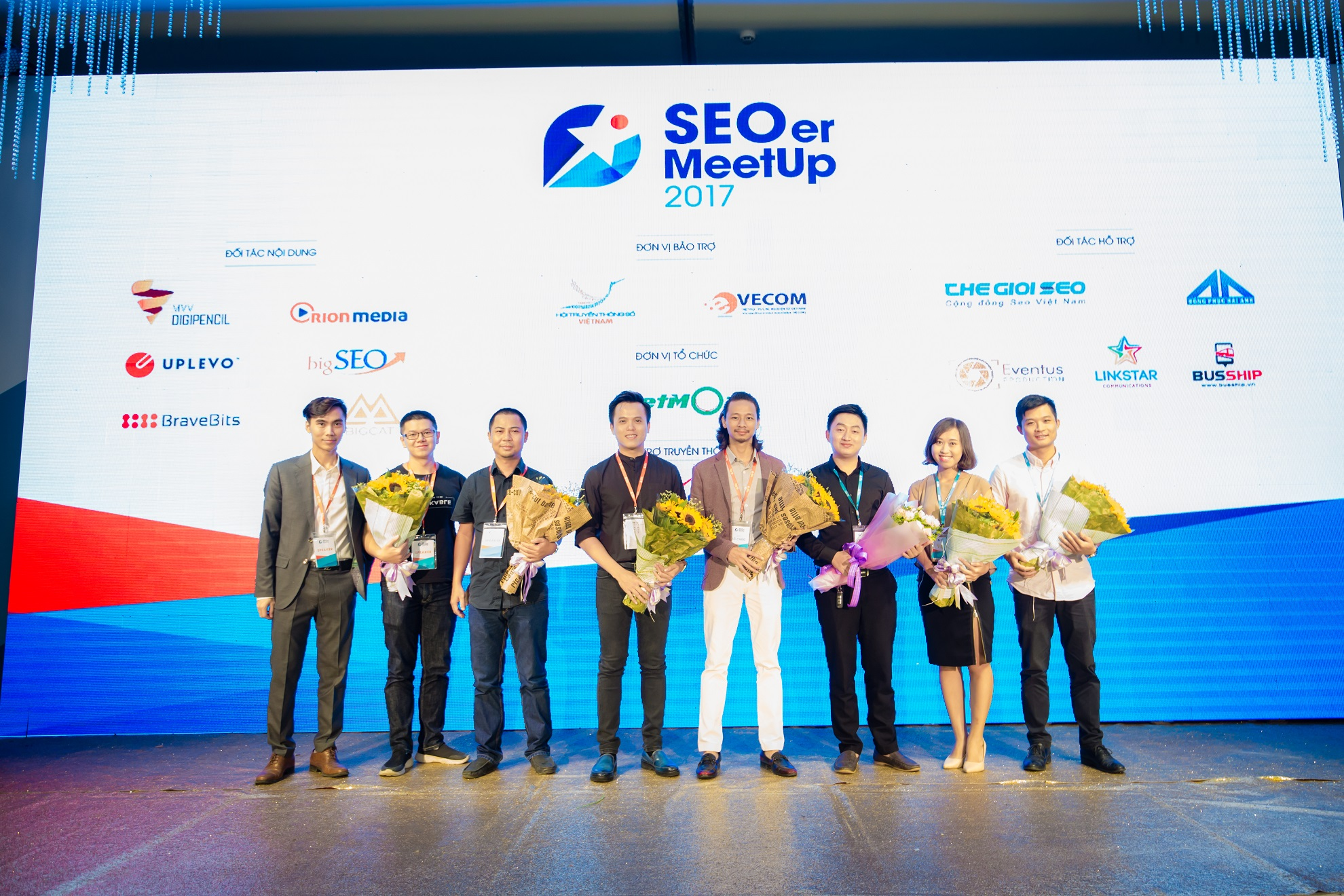 Hình ảnh diễn giả SEOer MeetUp 2017 tại sự kiện