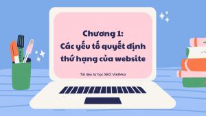 Series tu hoc seo VietMoz - chuong 1